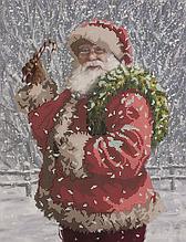 Схема для вышивания бисером Новогоднее чудо