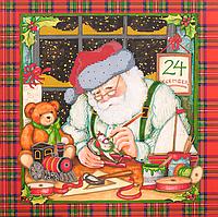 Схема для вышивания бисером Новогодние чудеса