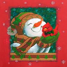 Схема для вышивания бисером Новогоднее настроение