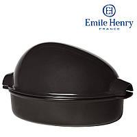 Форма керамическая для запекания курицы Emile Henry Черная (798442)