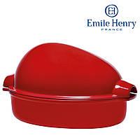 Форма керамическая для запекания курицы Emile Henry Красная (348442)