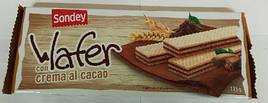 Вафли Sondey с какао, 175 г (Италия)