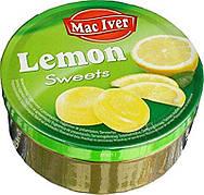 Леденцы Mac Iver Lemon Sweets, 200 г (Чехия)