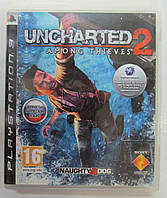 Uncharted  2: Among Thieves (PS3) русская версия БУ