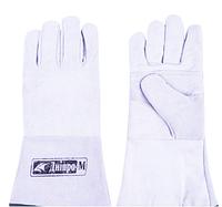 Перчатки Днипро-М Краги замшевые (белые)
