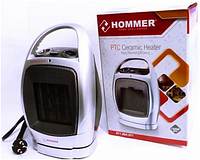 Тепловентилятор керамический QUARTZ HEATER HOMMER PTC 204, 1500 ВТ