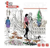 "Альбом для эскизов  ""Paper Watercolour Collection"" 315*310мм, 10л  741695"