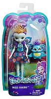 Кукла Пэттер Павлина Энчантималс 15 см  Mattel Enchantimals Patter Peacock Doll DYC76