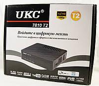 Цифровой тюнер приставка ресивер UKC, DVB-T2