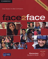 Face2face 2nd Edition Elementary SB + DVD-ROM