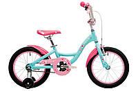 Велосипед 16'' Pride Alice (AL) мятний/рожевий/малиновий 2018