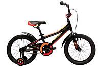 Велосипед 16'' Pride Tiger (AL) чорний/червоний/жовтий 2018, фото 1