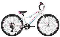 Велосипед 24'' Pride Lanny 7 білий/бірюзовий/малиновий 2018