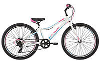Велосипед 24'' Pride Lanny 7 білий/бірюзовий/малиновий 2018, фото 1