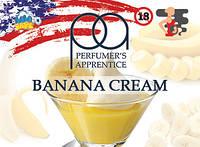 Banana cream ароматизатор TPA (Банановый крем) 10мл