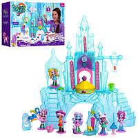 Игровой набор Замок Домик Литл Пони (my Litle Pony) свет-звук, фигурки пони, мебель, аксессуары в коробке36*9