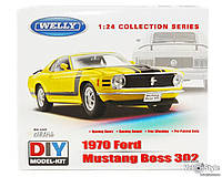 Машинка Сборная модель Welly,Ford Mustang 1:24 22088KB