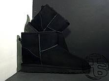 Женские угги UGG Classic Mini Black 5854w, фото 3