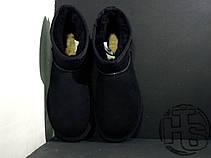 Женские угги UGG Classic Mini Black 5854w, фото 2