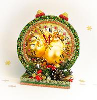 """Новогодний букет конфет """"Часы"""", подарок, конфеты шоколадные"""