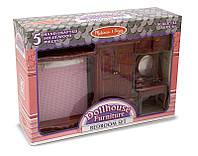 Мебель для домика Спальня ТМ Melissa&Doug
