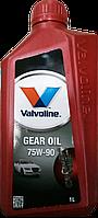 Масло трансмиссионное Valvoline GEAR OIL 75W90, 1л