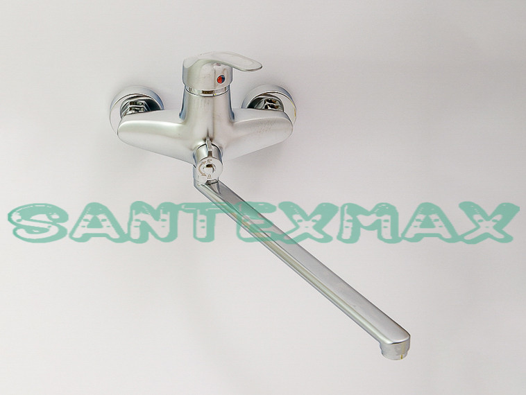Смеситель для ванной Smack 8348 Euro-Y Satin