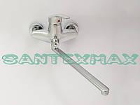 Смеситель для ванной Smack 8348 Euro-Y Satin, фото 1