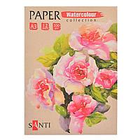 Набор акварельной бумаги А3 Paper Watercolor Collection, 12 шт  741706