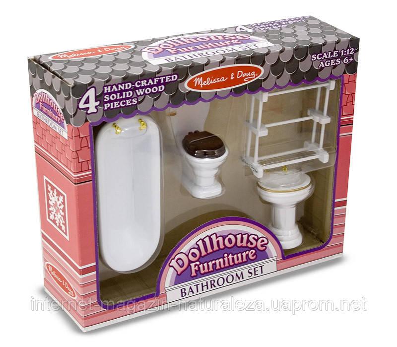 Мебель для домика Ванная  комната ТМ Melissa&Doug