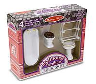 Мебель для домика Ванная  комнатаТМ Melissa&Doug