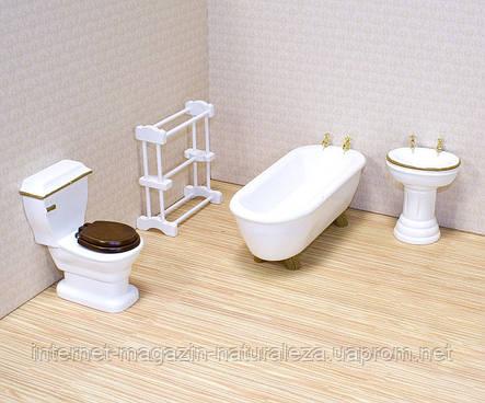 Мебель для домика Ванная  комната ТМ Melissa&Doug, фото 2