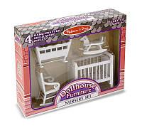 Мебель для домика Детская  комната ТМ Melissa&Doug