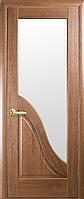 Межкомнатные двери Новый Стиль Амата ПО стекло сатин