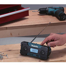 Аккумуляторная дрель-шуруповерт Makita DF 330 DWE + радио Makita MR051, фото 2