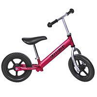Беговел PROFI KIDS детский 12 д. M AL3440-AN-3 (1шт) колеса EVA,пласт.обод, алюм.анодир.рама,красный