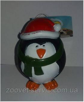 Игрушка для собак Пингвин 8,5х6,5х6,5смUniZoo DI031, фото 2