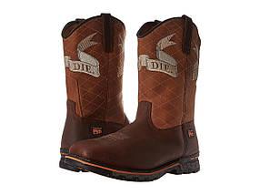 Ботинки/Сапоги (Оригинал) Timberland PRO Independence Soft Toe Unlined Pull-On Brown Full Grain Leather
