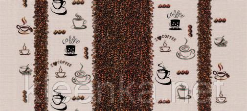 Клеенка с кофе  ОПТом в рулонах, фото 2