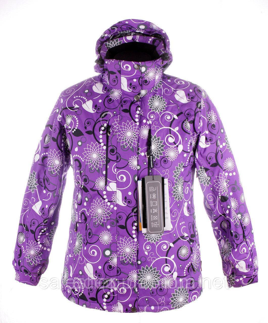 b71ef99bd3d5 Женская горнолыжная (лыжная) куртка Snow headquarter c Omni-Heat - sale-shop