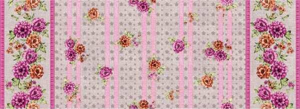 Скатерть-клеенка столовая с орнаментом в рулонах оптом, фото 2
