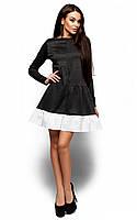 Повсякденне темно-сіре трикотажне плаття Inga (S, M, L)
