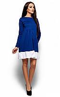 Повсякденне синє трикотажне плаття Inga (S, M, L)
