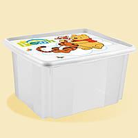 Ящик для хранения Winni the Pooh 24л белый