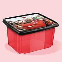 Ящик для хранения прозрачный CARS 24л