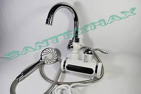 Водонагреватель проточный для ванны и душа LZ-008