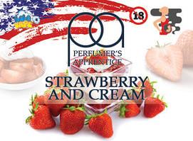 Strawberry And Cream ароматизатор TPA (Клубника со сливками)