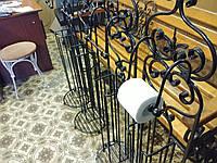 Кованый держатель для туалетной бумаги арт.пи.15, фото 1