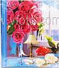 Фотоальбом  Цветы большой 25х31.5см 4 вида (20 магнит. листов)