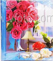 Фотоальбом  Цветы большой 25х31.5см 4вида (20магнит. листов)